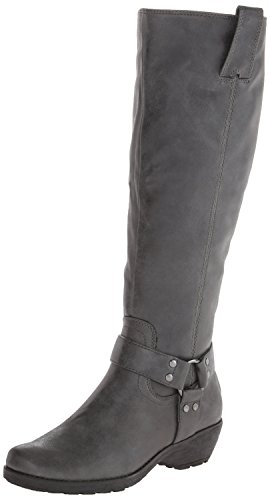 A2 by Aerosoles Women's In An Instint Harness Boot,Grey,7 M