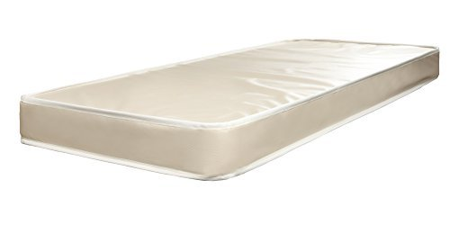 Customize Bed 6 Inch Foam Mattress with Vinyl Cover, Cot size 30x74 Water Resistant Folding Mattress is Great for Guest Bed, RV, Camping & More-- CertiPUR-US® Certified Foam (Folding Rv Mattress compare prices)