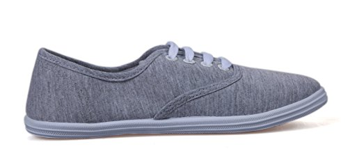 VenusCelia Damen Champion Original Canvas Sneaker Aschgrau