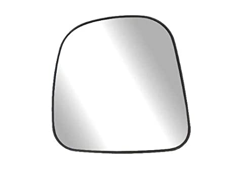 Fit System 80196 Passenger Side Non-heated Replacement Mirror Glass with Backing Plate