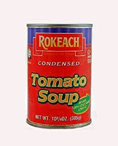Rokeach Condensed Tomato Soup Kosher For Passover 10.75 oz. Pack of 6. by Rokeach