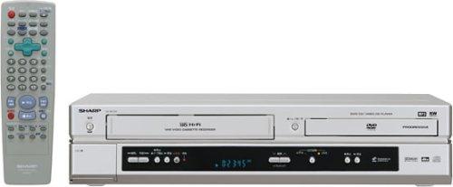 샤프 D・combo 비디오 일체형DVD플레이어 DV-NC750