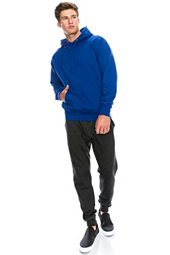 08027ded3e9 JC DISTRO Mens Hipster Long Sleeve Basic Active Slim Fit Causal Pullover  Hoodie Sweatshirts