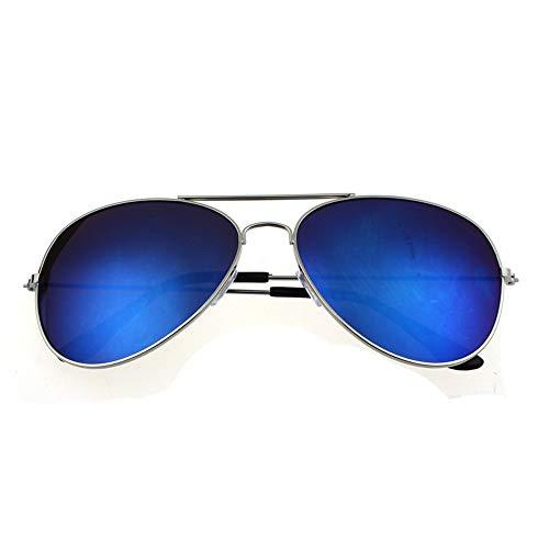 Sunglasses for Men, F_Gotal Men's Polarized Square Aviator Sunglasses Retro Style Metal Frame for Cycling Driving ()