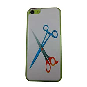 HC- Tijeras belleza Patrón PC de nuevo caso de iPhone 5C