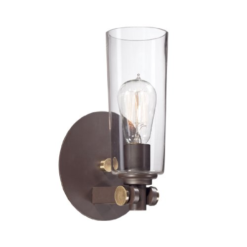 Quoizel UPEV8701WT 1-Light Uptown East Village Wall Sconce in Western - East Town