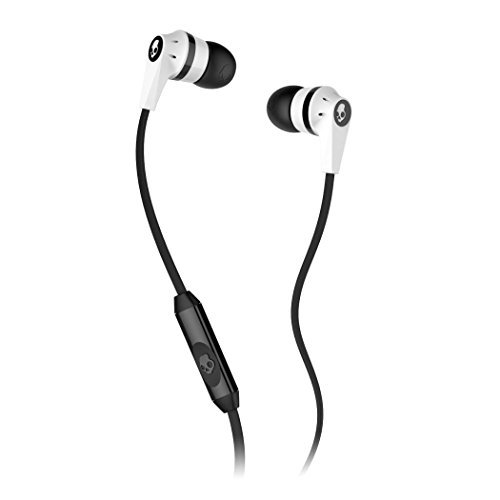 Skullcandy Ink'd 2 Earbuds with Mic1 (WHITE/BLACK/WHITE)