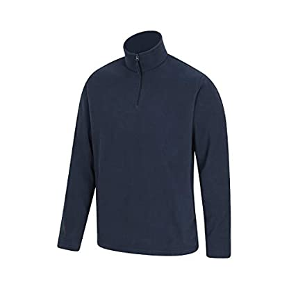 Mountain Warehouse Mens Camber Fleece Top - Lightweight Top, Breathable Sweater, Quick Drying Pullover, Extra… 3