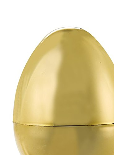 'Tis The Season Jumbo XLarge Gold Easter Egg Easter Gift Card Holder Fillable 12