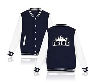 Fortnite, coat sweater baseball uniform for unisex,blue