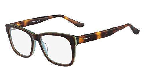 Salvatore Ferragamo Eyeglasses SF2693 220 Tortoise Green 55 18 (220 Eyeglasses)