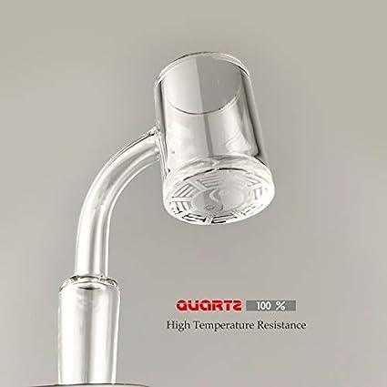 Mother Ship-Glass Heat Resistant Quartz Smokeless Kit 14MM Female