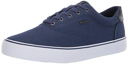 - Lugz Men's Flip Sneaker, Navy/White, 12 D US
