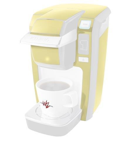 ソリッドコレクションイエローSunshine – デカールスタイルビニールスキンKeurig k10 / k15 Mini Plusコーヒーメーカー( Keurigに含まれません   B0181DCNFW