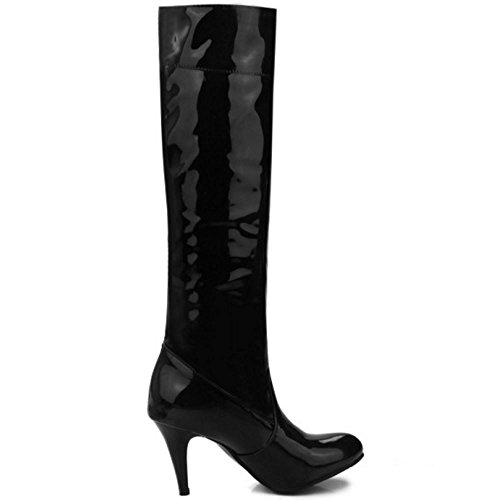 Boots COOLCEPT Pull Black Women on rrBna5R