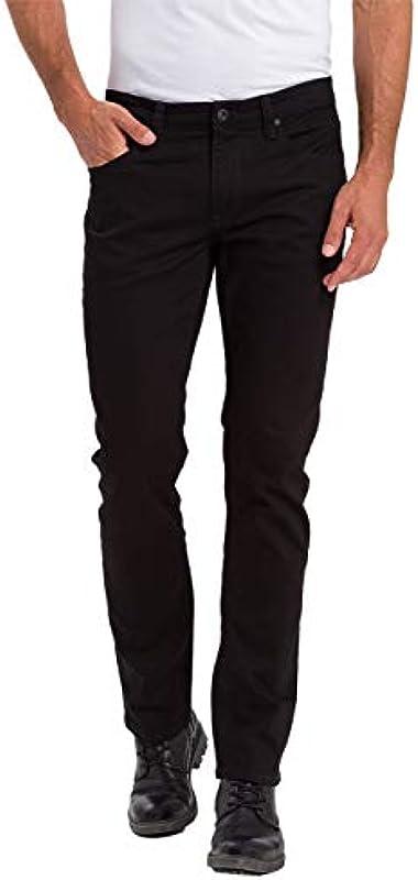 Cross Jeans dżinsy męskie dżinsy stretch jeans Dylan Regular Fit czarne Crinkle W28-W38 98,5% bawełna: Odzież