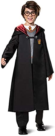Harry Potter Costume for Kids, Classic Boys Outfit, Children Size Small (4-6)