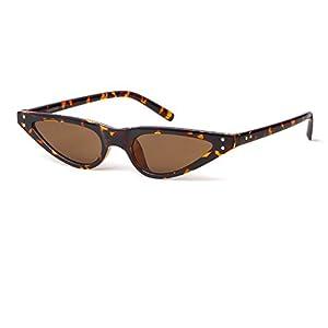 Vintage Retro Cat Eye Sunglasses For Women Small Designer Shades Glasses