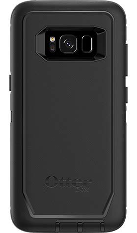 OtterBox DEFENDER SERIES for Samsung Galaxy S8 (SCREEN PROTECTOR NOT INCLUDED) - Bulk Packaging - BLACK - (Case Only - Holster Not Included) (Black)