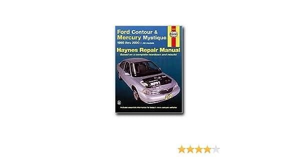 Haynes ford contour and mercury mystique 95 00 manual haynes ford contour and mercury mystique 95 00 manual 0038345360060 amazon books fandeluxe Images
