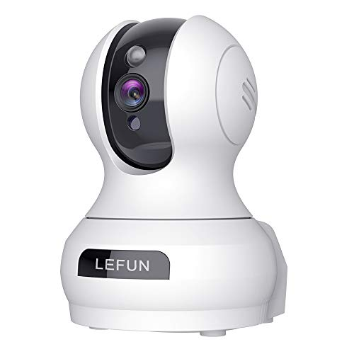 [Updated] Lefun Video Baby Monitor, 3MP Home WiFi Security Pet Camera with Sound Detection Cloud Service 2 Way Audio, Wireless IP Surveillance Camera with Night Vision