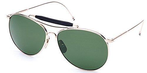 5692809bbca Thom Browne Sunglasses TB-020 Polarized TB-020B-T  Amazon.co.uk  Clothing