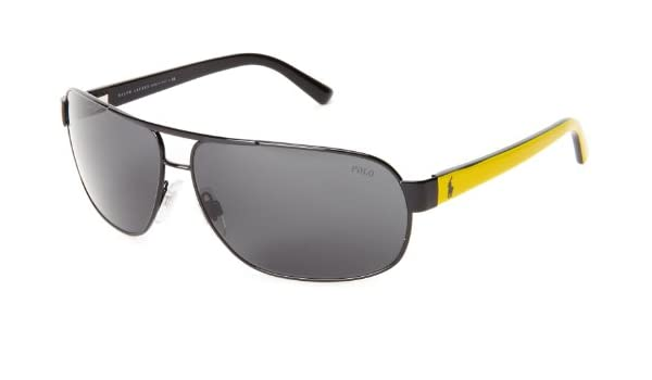 Ralph Lauren Gafas de Sol Polo PH3066 MATTE BLACK - GRAY ...