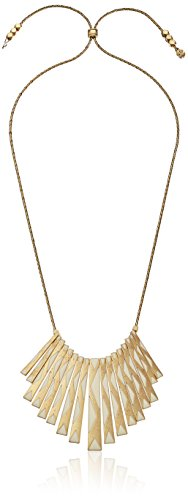 Lucky Brand Gold Paddle Necklace