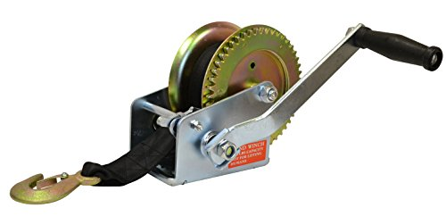 Valley Industries TW-1600-S20 Trailer Winch (Hand Puller Boat)