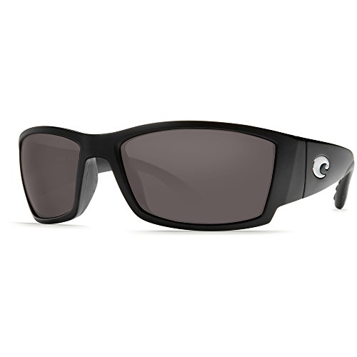 Costa Del Mar Corbina Polarized Sunglasses, Black, Gray 580Plastic by Costa Del Mar