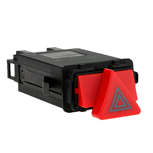 Dingq Hazard Emergency Flasher Warning Light Switch 4B0941509D for Audi A6 B4 C5 - -