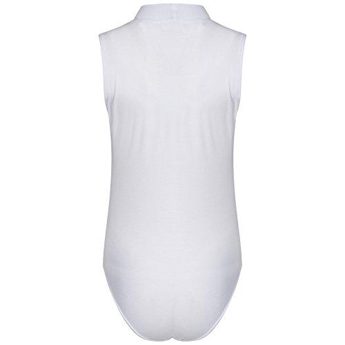 Love Celeb Look - Camiseta sin mangas - para mujer blanco