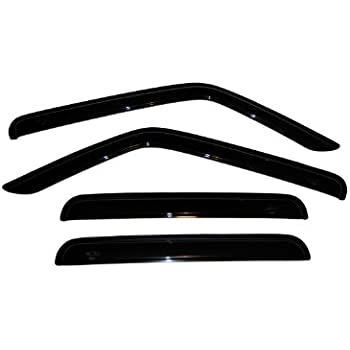 auto ventshade 94359 ventvisor window deflector 4 piece automotive. Black Bedroom Furniture Sets. Home Design Ideas