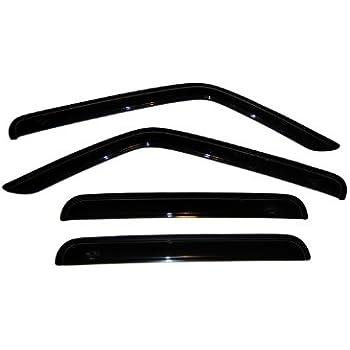 auto ventshade 94359 ventvisor window deflector 4 piece automotive. Black Bedroom Furniture Sets. Home Design Ideas