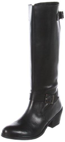 MIA 2 Women's Nacho Knee-High Boot,Black Leather,10 M US