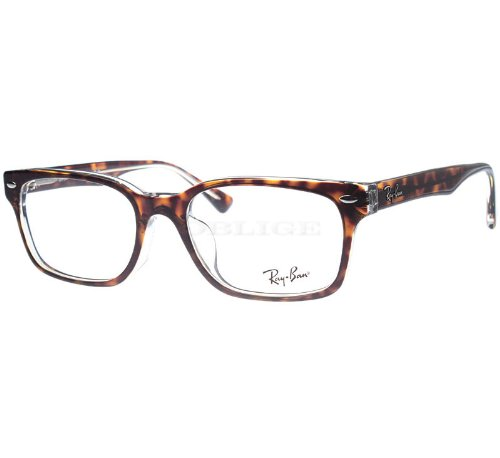 Ray Ban RX5286 Eyeglasses 51-18-135 Top Havana On Transparent 5082 RX - Luxottica Sunglass Hut