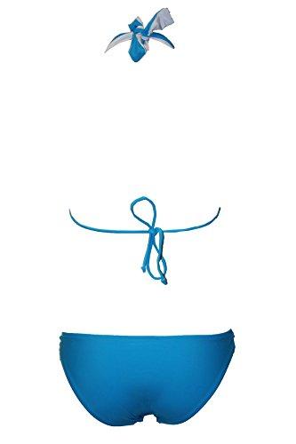 Raivar - Conjunto - para mujer azul claro
