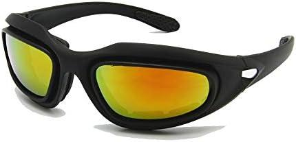 Amazon.com: Kit de 4 lentes para goggles militares ...