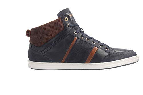 Uomo Mondovi Blues Sneaker Pantofola a d'Oro Collo Dress Mid Alto 7Ow7q05zR