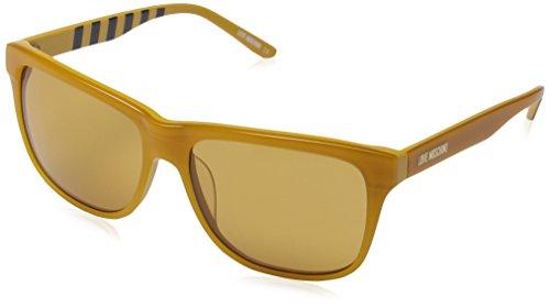 Love Moschino - Lunette de soleil ML533S Rectangulaire - Femme Yellow  frame brown lens e576147c6697
