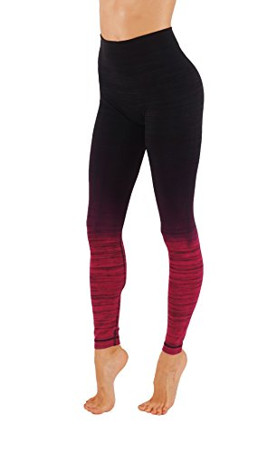 KVKSEA Women's Flexible Yoga Pants Ombre Leggings Activewaer L704