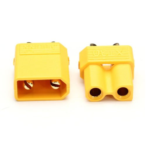 T-Trees 10 Pairs XT30 2mm Golden Connector Plug Set for RC Quadcopter Multicopter ()