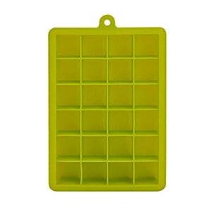 Depory Stampo Cubetti Ghiaccio in Silicone 24 Cubetti Vaschette Ghiaccio Cibo Congelatore Contenitore Ghiaccio Box… 10 spesavip