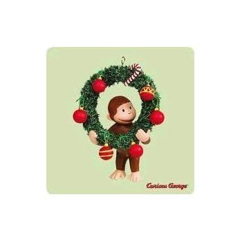 Hallmark Keepsake Curious George Monkey See Ornament - Amazon.com: Hallmark Keepsake Curious George Monkey See Ornament