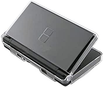Kailisen Transparent Hard Case Cover Compatible with Nintendo DS Lite NDSL, Protective NDS Lite Crystal Clear ICE Case