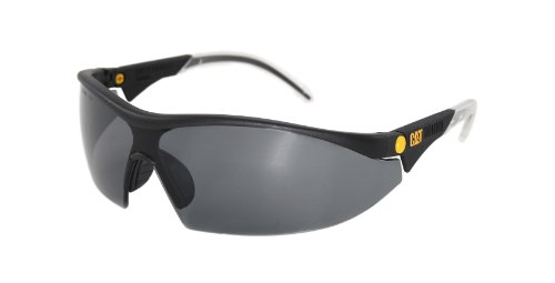Caterpillar CSA-DIGGER-104-AF Filter Category 5-2.5 Smoke Lens Safety Glasses, - Frames Caterpillar Glasses
