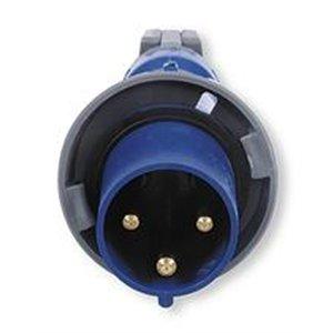 Hubbell HBL360P6W AC Plug IEC60309 360P6W Male IEC 309 Pin & Sleeve
