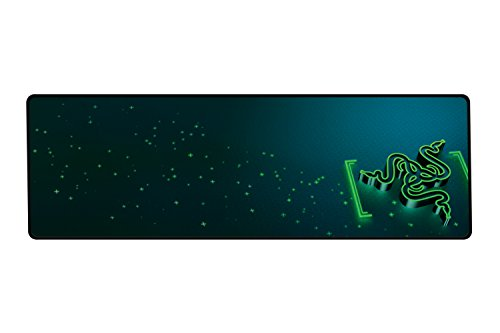 - Razer Goliathus Control (Extended) Gaming Mousepad - [Gravity]: Medium Friction Mat - Anti-Slip Rubber Base - Portable Cloth Design - Anti-Fraying Stitched Frame