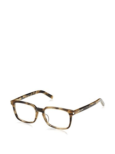 YSL Women's Eyeglasses 53 Dark Horn