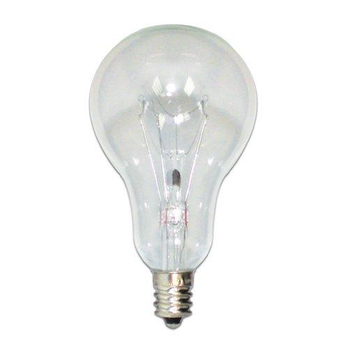 Bulbrite 60A15C/E12 60W 130V Incandescent Fan Bulb A15 Bulb, Clear 60w A15 Medium Bulb